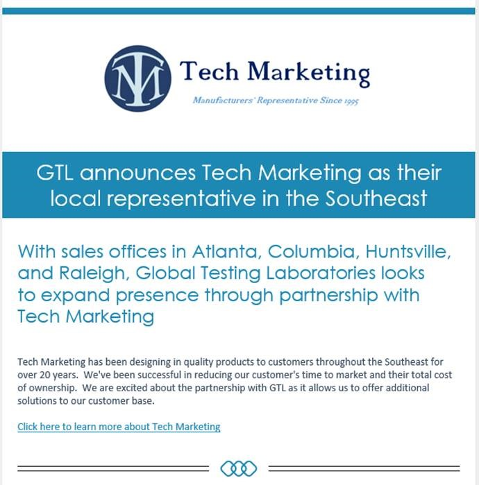GTL-Tech Marketing Announcement
