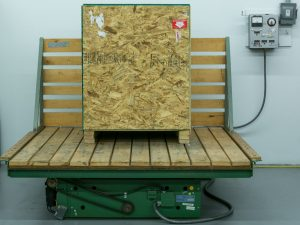 Transportation Testing - Mechanical Technology, Inc. Shock and Vibration Testing Machine (Truck Bed)